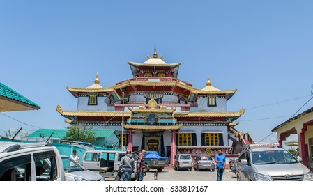 May 02,2017.Zang Dhok Palri Phodang is a Buddhist monastery in Kalimpong in West Bengal, India. The monastery is located atop Durpin Hill. It was consecrated in 1976 by the visiting Dalai Lama.