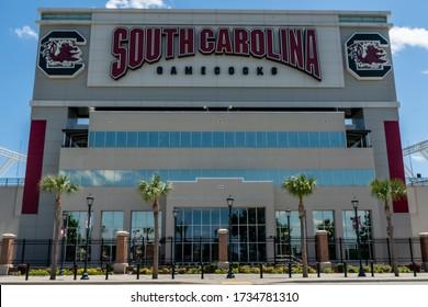 May 06, 2020 - Columbia, South Carolina, USA: Williams-Brice Stadium is the home football stadium for the South Carolina Gamecocks, representing the University of South Carolina