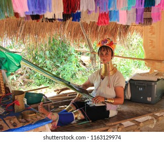 May 11, 2011, Pattaya, Thailand Padaung women