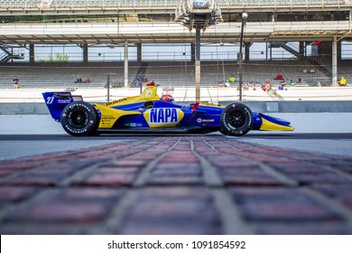 May 11, 2018 - Indianapolis, Indiana, USA: ALEXANDER ROSSI (27) of the United States takes to the track to practice for the IndyCar Grand Prix at Indianapolis Motor Speedway in Indianapolis, Indiana.