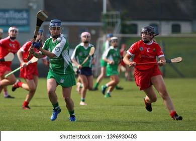 May 11th, 2019, Kilmallock, Ireland - Camogie Junior Championship Semi Final - Limerick vs Cork