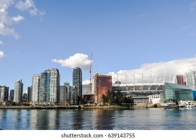 May 13 2017-Rogers Arena and BC place at Vancouver,BC Canada