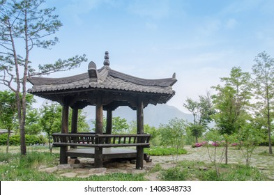 May 15, 2019. Republic of Korea Sky and Summerhouse