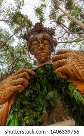May 15, 2019 - Tulum, Mexico sculpture art by Daniel Popper