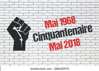 May 1968 events in France, 50th anniversary