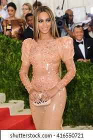 May 2, 2016 - New York, New York, USA - Beyonce Knowles arrives at the Metropolitan Museum of Art Costume Institute Gala, Manus x Machina: Fashion in the Age of Technology