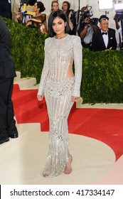 May 2, 2016 - New York, New York - Kylie Jenner attends the Metropolitan Museum of Art Costume Institute Gala, Manus x Machina: Fashion in an Age of Technology