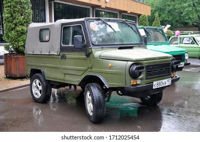 May 20, 2018 - Moscow, Russian Federation: Car LuAZ-969, Volyn. The best off-road model of Soviet technology.