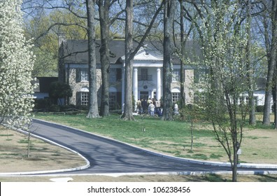 MAY 2004 - Entrance to Graceland, home of Elvis Presley, Memphis, TN