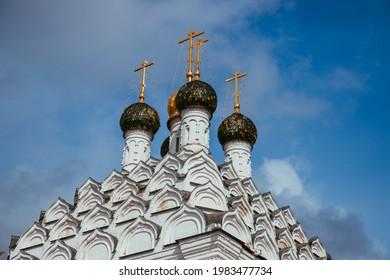 May 2021. Church of St. Nicholas on Posada. Kolomna town. Russia.