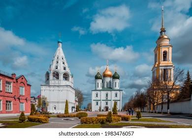 May 2021. Kolomna Kremlin. Kolomna. Russia.