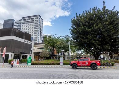 May 23, 2021 Sunday scenery in Fort bonifacio, Manila, Philippines