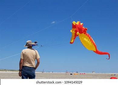 May 26, 2013 - Wildwood, NJ, USA: Huge fancy kites are showcased at the annual Wildwoods International Kite Festival in Wildwood, New Jersey.