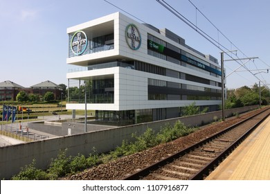 May 26, 2018 - Bayer office in Brussels, Belgium - Bayer is an innovation company with core competencies in the Life Science areas of health care and agriculture, strongly represented in the Benelux.