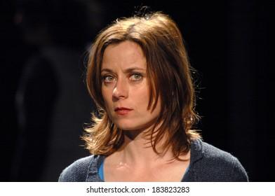 """MAY 27, 2006 - BERLIN: Inka Friedrich in a scene of the theter play """"Kasimir und Karoline"""", Deutsches Theater, Berlin-Mitte."""