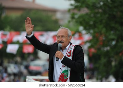"May 27, 2011 Istanbul Turkey. Kemal Kilicdaroglu giving a speech.He is leader of the CHP (""Republican People's Party"") and has been Leader of the Main Opposition in Turkey since 2010."