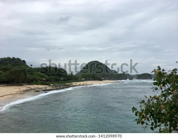 May 29 2017 Pantai Goa Cina Stock Photo Edit Now 1412098970