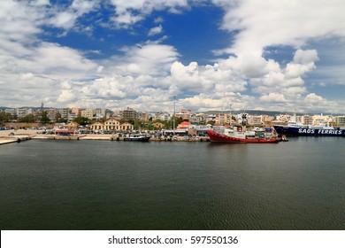 May 3 2016 Alexandroupolis port , Greece