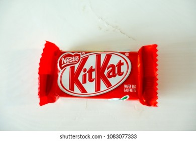 May 3 2018- Nestle KitKat Chocolate in Vancouver, BC Canada