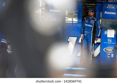 May 31, 2019 - Long Pond, Pennsylvania, USA: Ricky Stenhouse, Jr (17) gets ready to practice for the Pocono 400 at Pocono Raceway in Long Pond, Pennsylvania.