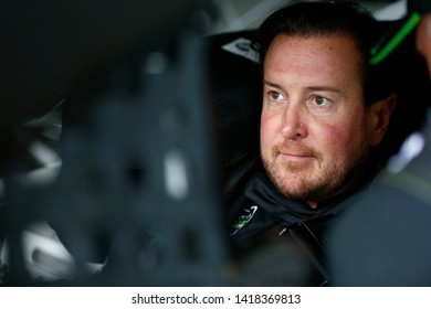 May 31, 2019 - Long Pond, Pennsylvania, USA: Kurt Busch (1) gets ready to practice for the Pocono 400 at Pocono Raceway in Long Pond, Pennsylvania.