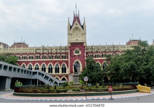 May 31,2017. Kolkata,West Bengal,India. The Calcutta High Court is the oldest High Court in India. The High Court building's design is based on the Cloth Hall.