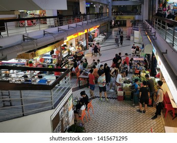 May 31/2019 Dinner time at Golden Mile Complex, Singapore