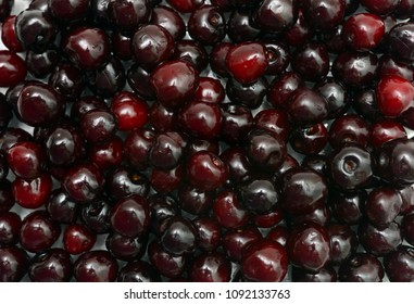 may cherries fruits natural food pattern background