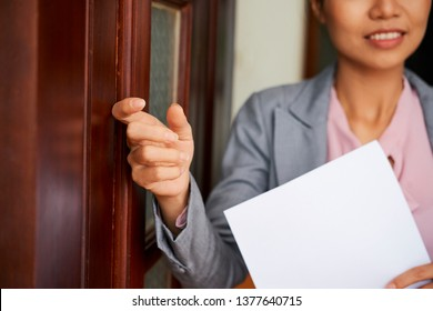 Person Knocking On Door Images, Stock Photos & Vectors