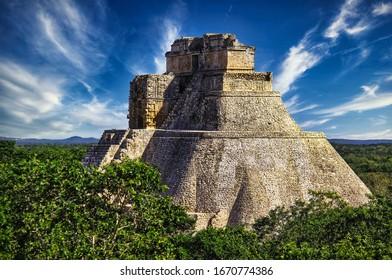 Arquitectura maya en yucatán mexico