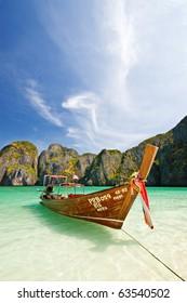 Maya Bay, The Beach Movie, Phiphi Island, Krabi Province, South of Thailand
