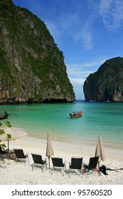 Maya Bay, Koh Phi Phi Ley, Thailand. The place where the movie the Beach was filmed