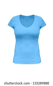 Maya blue t-shirt