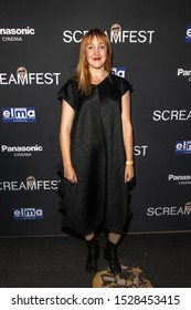 """Maya Korn attends 19th Annual Horror Film Festival – ScreamFest - Opening Night """"Eat, Brains, Love"""" Los Angeles Premiere at TLC Chinese Theatre, Hollywood, CA on October 8, 2019"""