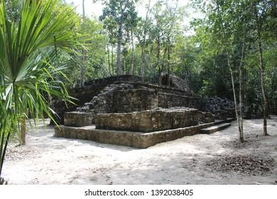 the maya ruins in Coba