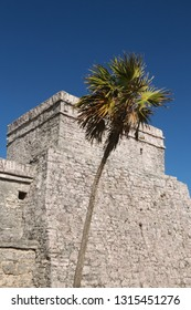 Maya temples of  Tulum, Mexico.