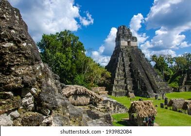 Maya Tikal Ruins in Guatemala