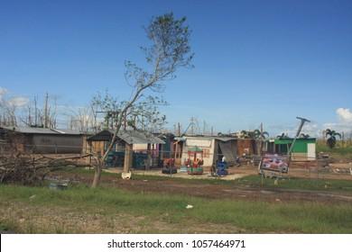 Mayaguez Puerto Rico Hurricane Maria Destruction
