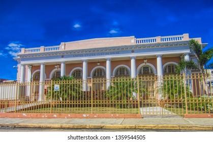 Mayaguez, Puerto RicoUSA - February 24, 2017: US Custom House Building