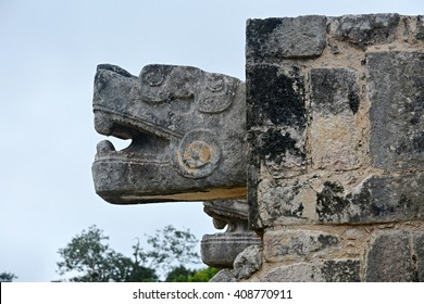 Mayan archeological site Chichen-Itza, Mexico.