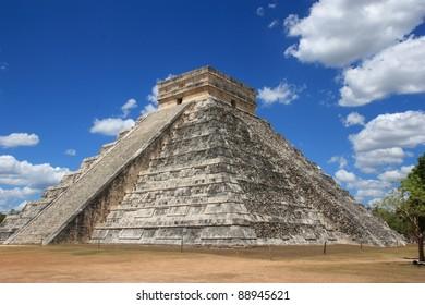 The Mayan pyramid