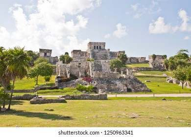 Mayan ruin at Tulum near Playa Del Carmen, Mexico