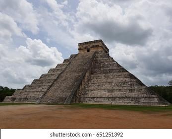 Mayan Ruins at Chichen Itza - Mexico