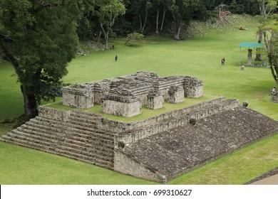 Mayan ruins in Copan, Honduras.