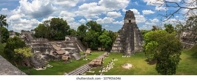 Mayan ruins in Guatemala.