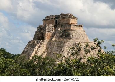 Mayan Ruins of Uxmal in Mexico