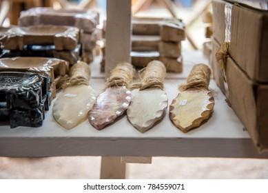 Mayan Stone Knifes