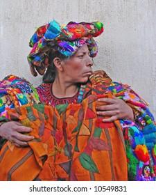 Mayan Vendor at Market