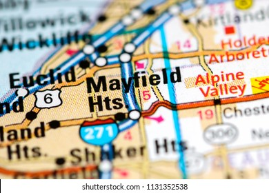 Mayfield Ohio Map.7 Mayfield Mayfield Heights Images Royalty Free Stock Photos On