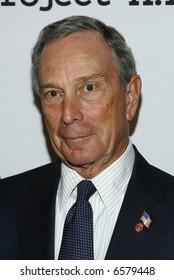 Mayor Mike Bloomberg p